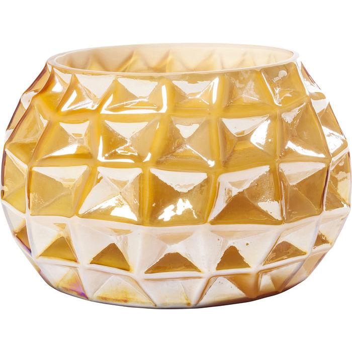 Billede af Kare Design Vase, Cascade Ravfarvet 19cm