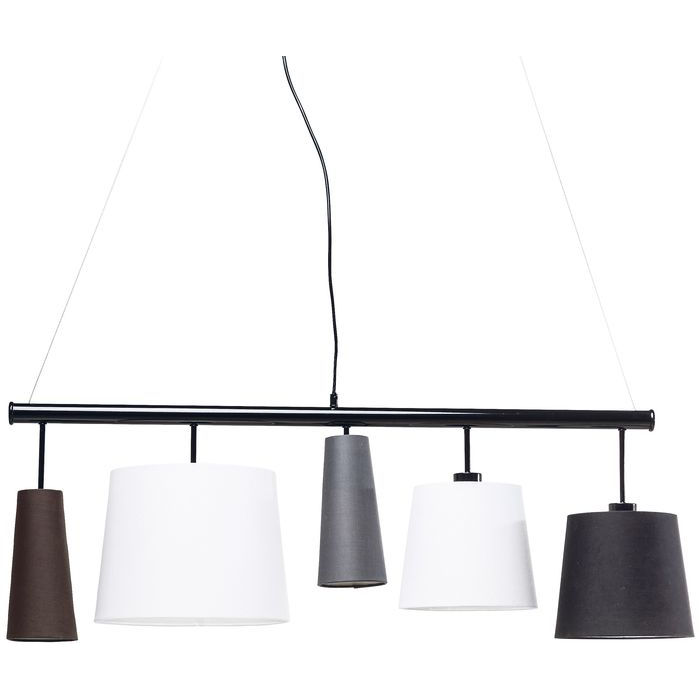 Image of   KARE DESIGN Loftlampe, Parecchi Sort 100