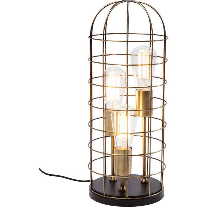 Image of   Kare Design Bordlampe, Cage Tre