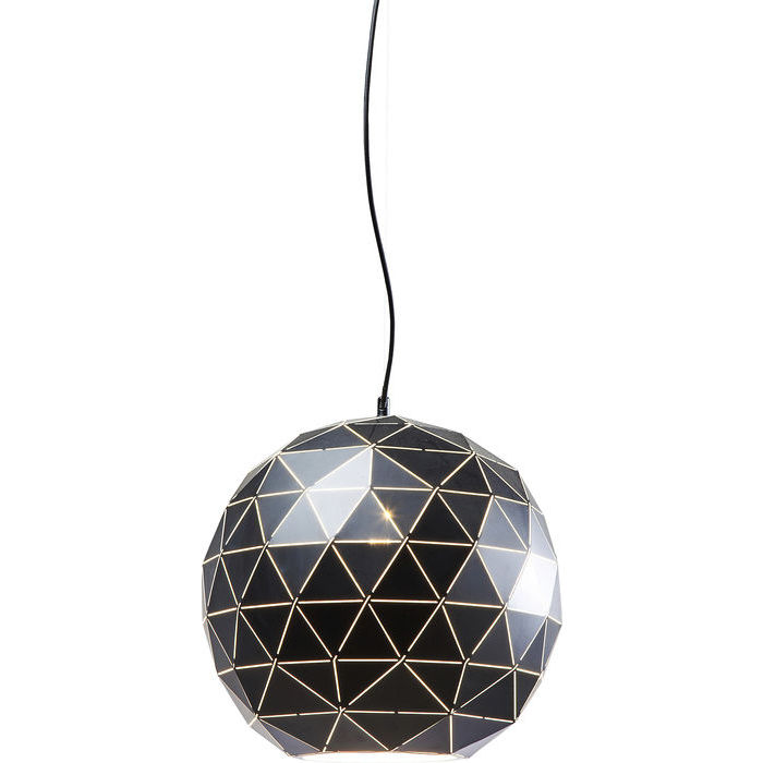 Image of   KARE DESIGN Loftlampe, Triangle Sort Ø40cm