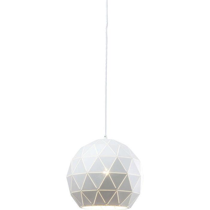 Image of   KARE DESIGN Loftlampe, Triangle Hvid Ø23cm