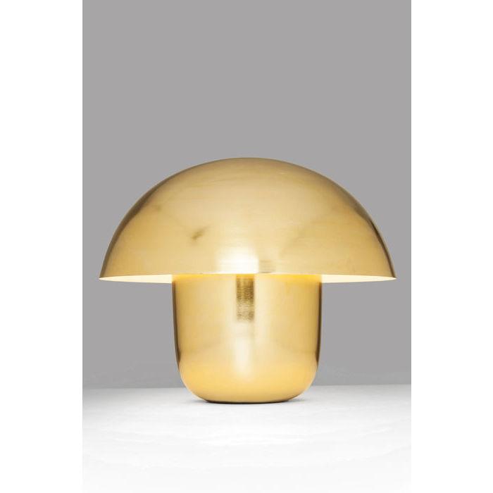 Image of   KARE DESIGN Bordlampe, Mushroom Messing