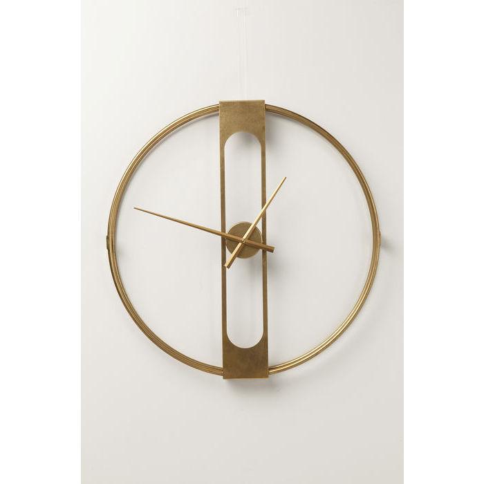 kare design Kare design clip gold vægur - guld stål, rundt (ø60) fra boboonline.dk
