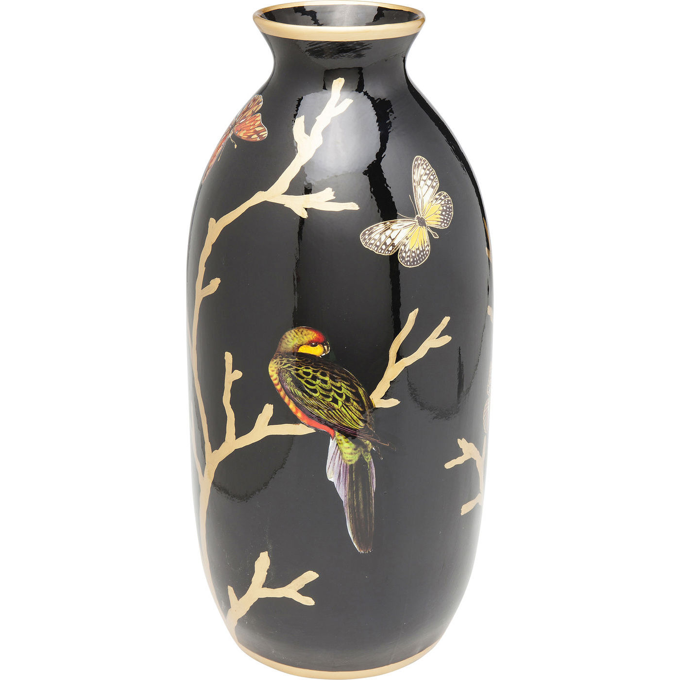 kare design – Kare design menagerie vase - multifarvet porcelæn, håndmalet (44cm) på boboonline.dk