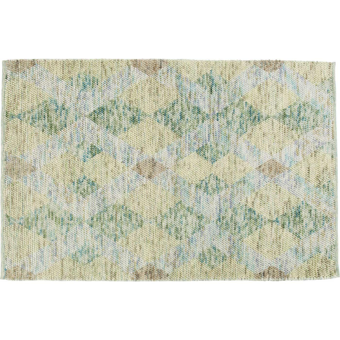 Kare design grasshopper gulvtæppe - multifarvet uld/bomuld/nylon, håndlavet (240x170) fra kare design på boboonline.dk