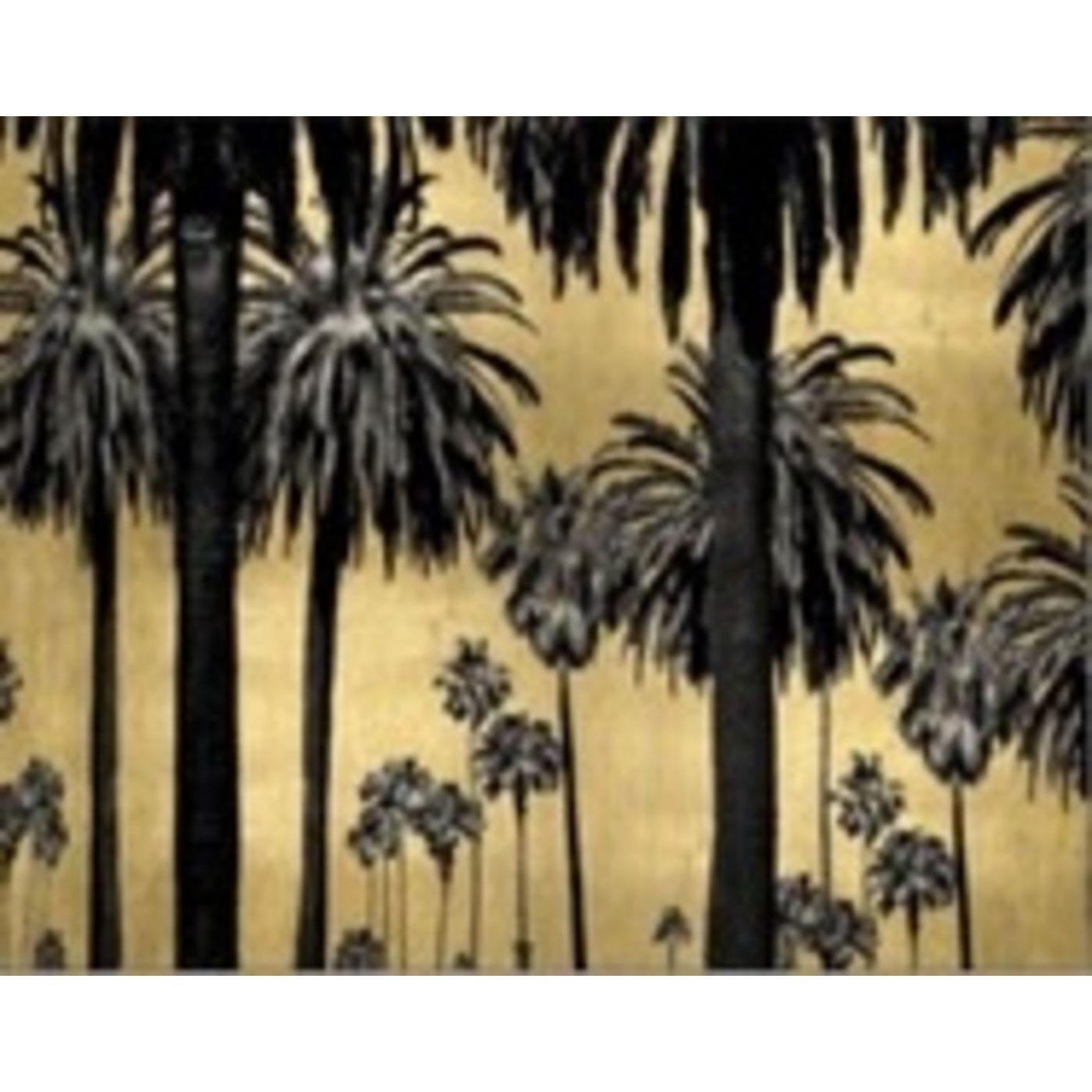 kare design Kare design glass metallic palms billede - multifarvet plastik/glas (120x80) fra boboonline.dk