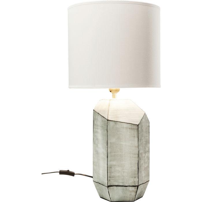 Image of   Kare Design Bordlampe, Diamond Grå