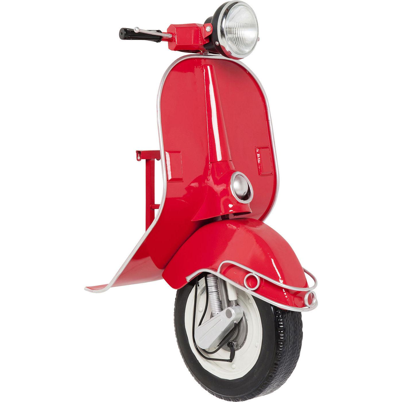 kare design Kare design scooter red econo led væglampe - sølv/rødt/sort stål fra boboonline.dk