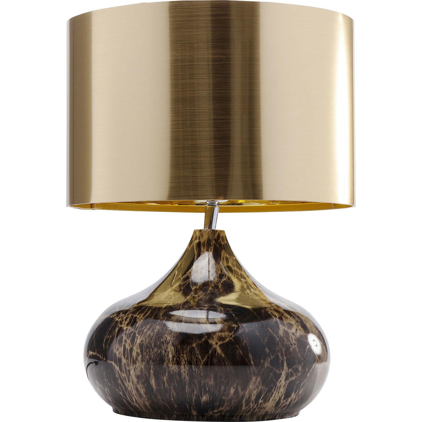 Kare design mamo deluxe bordlampe - guld plastik/brunt stål fra kare design fra boboonline.dk