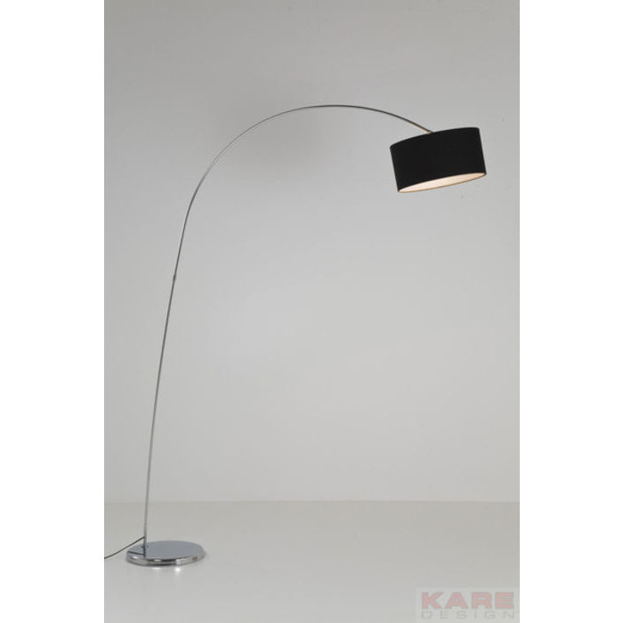 Image of   KARE DESIGN Gulvlampe, Gooseneck Sort