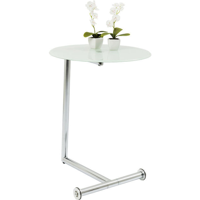 Image of   KARE DESIGN Sidebord, Easy Living Ice Ø46cm