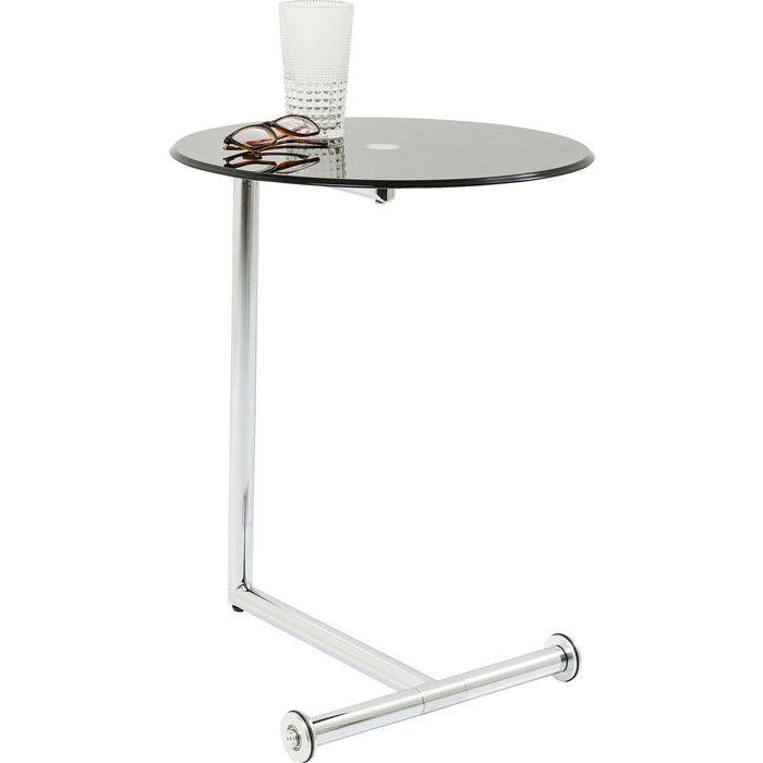 Image of   Kare Design Sidebord, Easy Living Sort Ø46cm