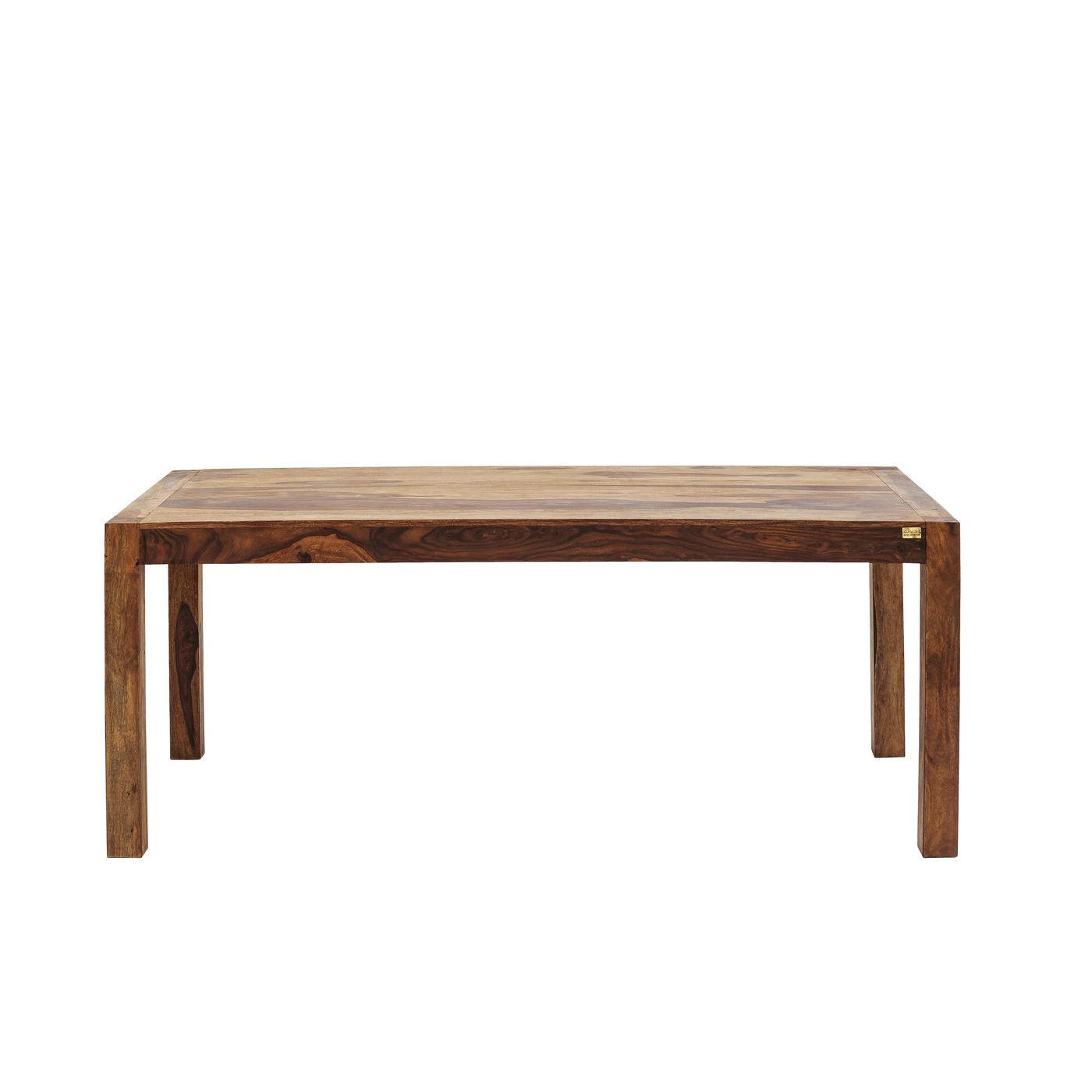 KARE DESIGN Authentico spisebord - natur sheeshamtræ (160x80)