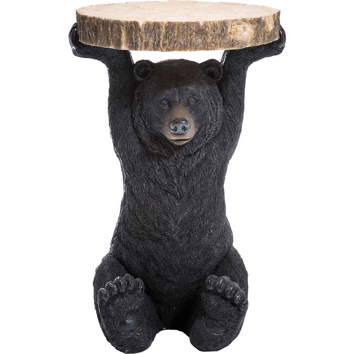 Image of   KARE DESIGN Sidebord, Animal Bear Ø40cm