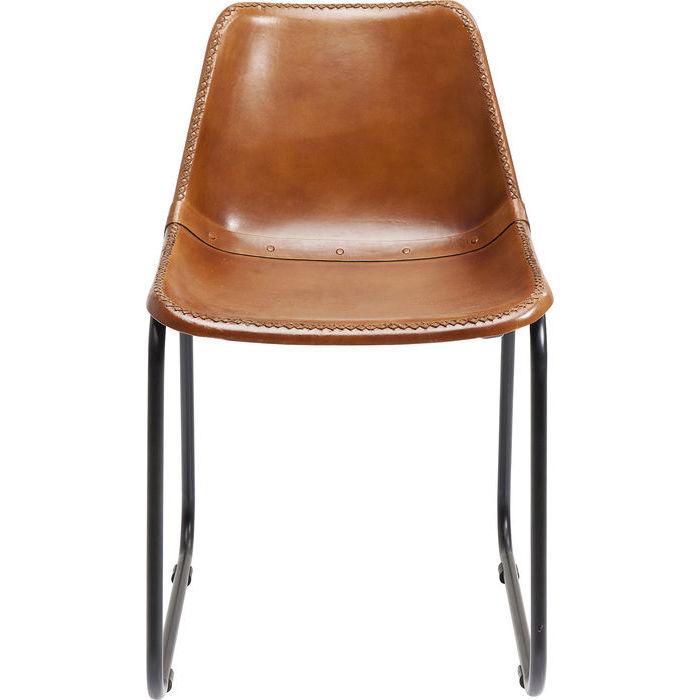 kare design – Kare design vintage spisebordsstol - brun gedeskind fra boboonline.dk