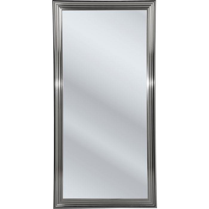 Billede af Kare Design Spejl, Frame Sølv 180x90cm