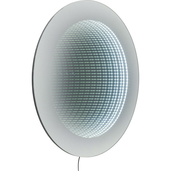 Image of   KARE DESIGN Vægkunst, Mirror Tube Ø80cm LED