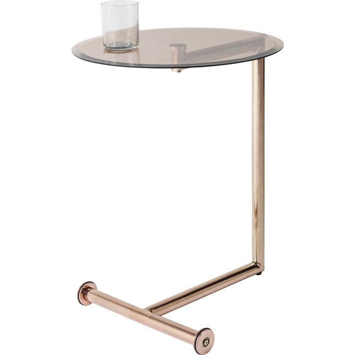 Billede af Kare Design Sidebord, Easy Living Kobber Ø46cm