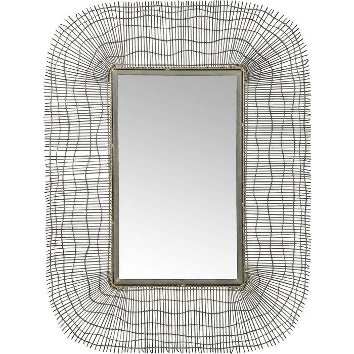 Billede af Kare Design Spejl, Wire Net 80x60cm