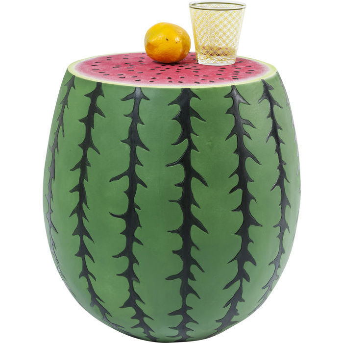Image of   Kare Design Skammel, Watermelon