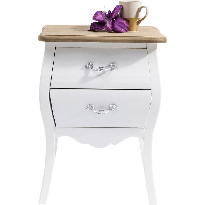 Billede af Kare Design Kommode, Romantic Hvid 45cm