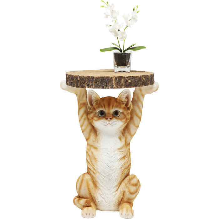 Image of   KARE DESIGN Sidebord, Animal Ms Cat Ø33cm