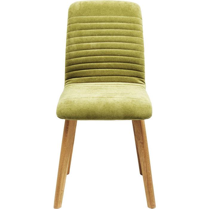 Kare design stol, lara grøn fløjl fra kare design fra boboonline.dk