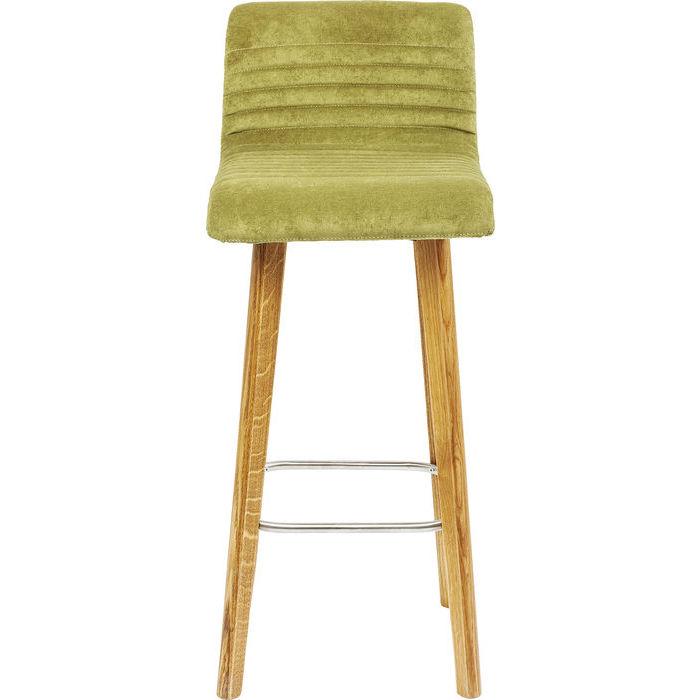 Billede af Kare Design Barstol, LARA Grøn Fløjl