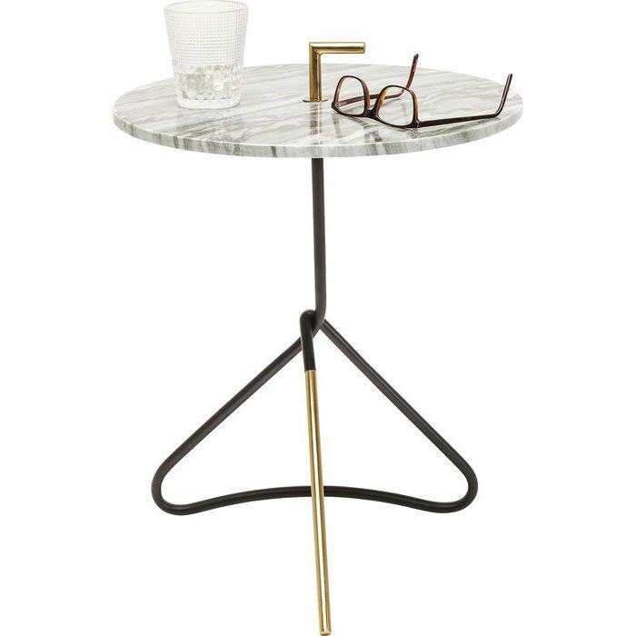 Billede af Kare Design Marmor Sidebord, Doblado Ø42cm