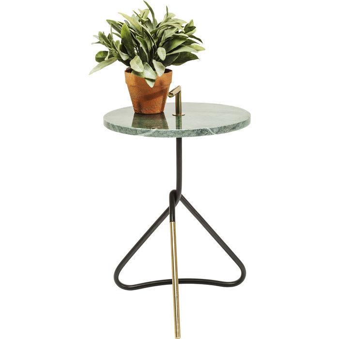 Image of   Kare Design Sidebord, Doblado grøn Ø37cm