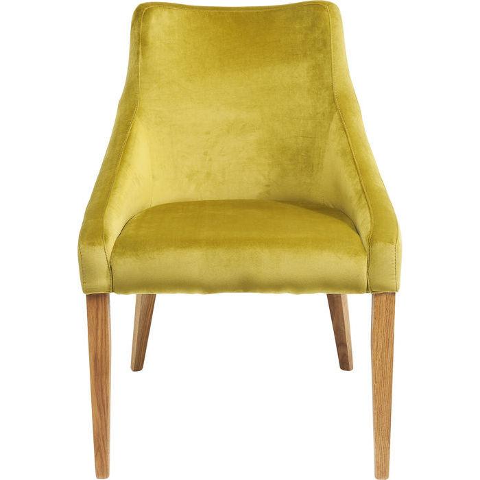 Kare design stol, mode velvet grøn fra kare design fra boboonline.dk
