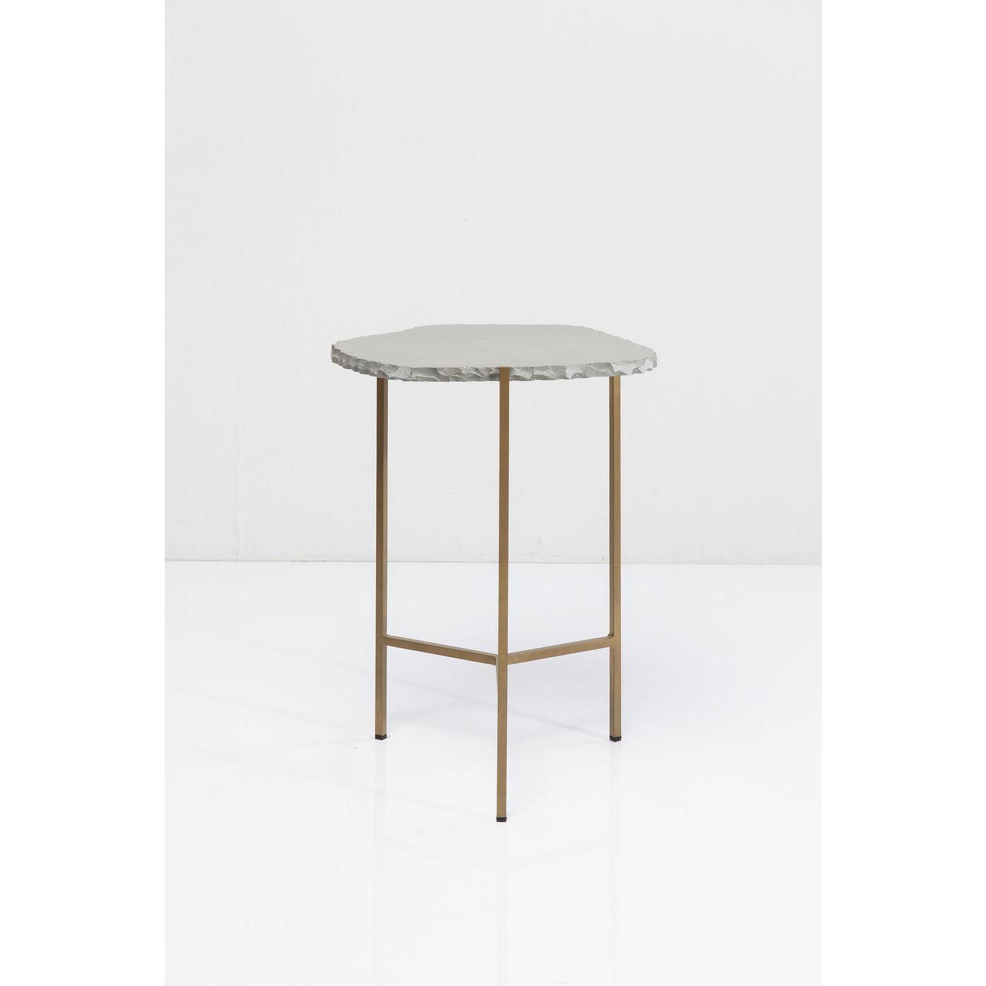 kare design Kare design piedra grey sidebord - grå skifer/guld stål på boboonline.dk
