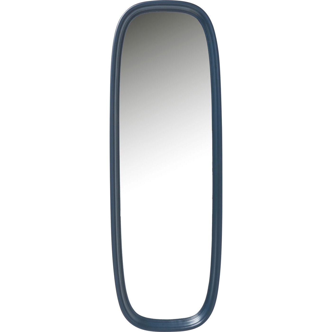 kare design – Kare design salto bluegreen vægspejl - spejlglas og blå/grønt plastik (140x80) på boboonline.dk