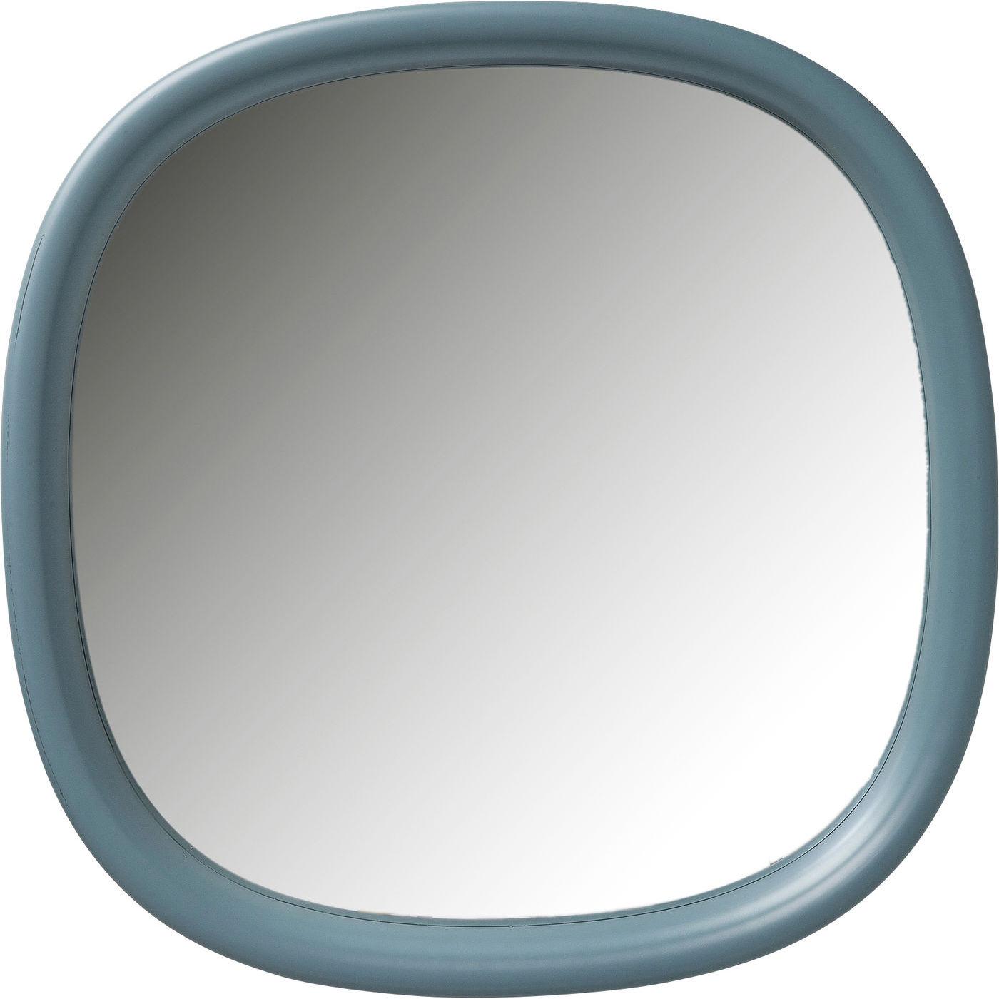 kare design Kare design salto mint vægspejl - spejlglas og mintgrøn plastik (100x100) fra boboonline.dk
