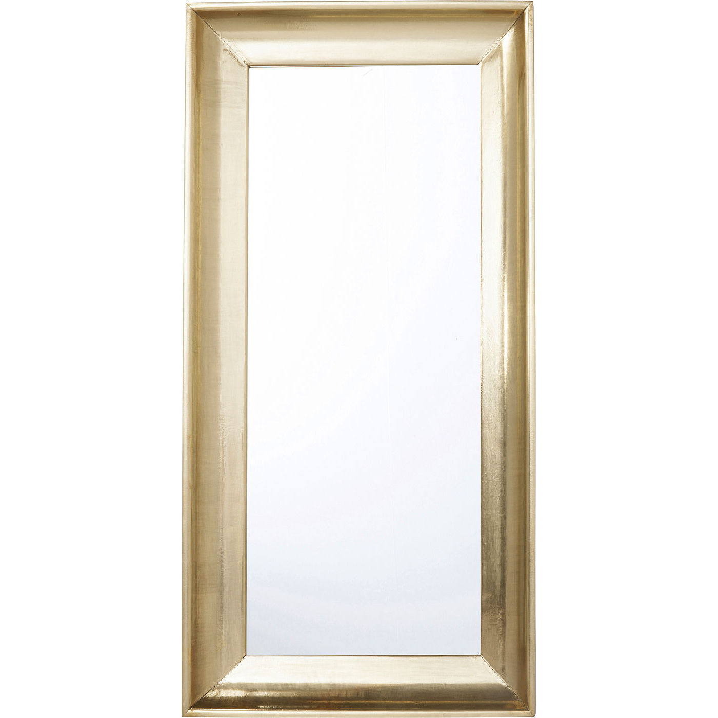 kare design – Kare design crudo vægspejl - spejlglas/messing træ, rektangulær (180x90) på boboonline.dk