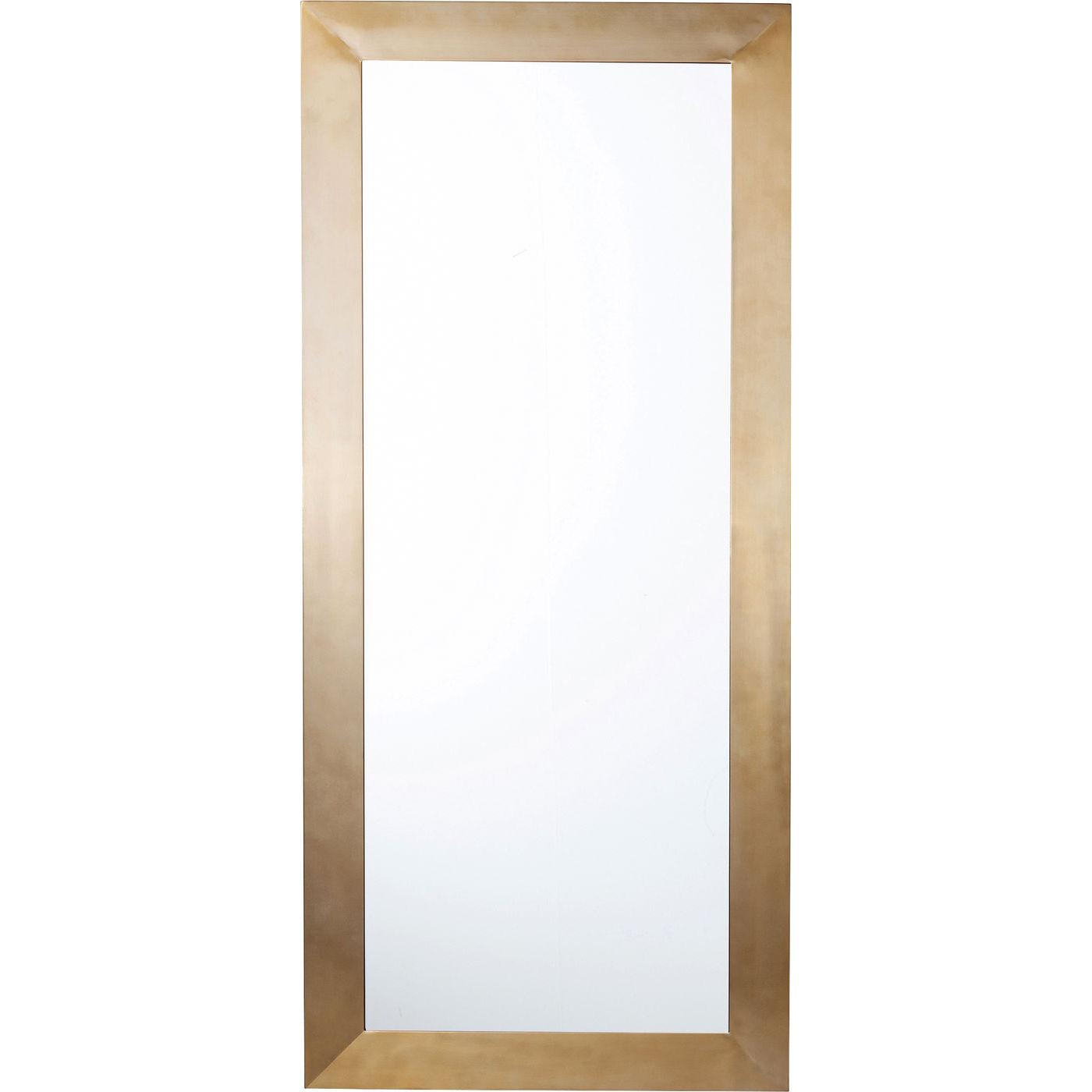 kare design – Kare design thunder vægspejl - spejlglas/messing stål, rektangulær (180x80) på boboonline.dk