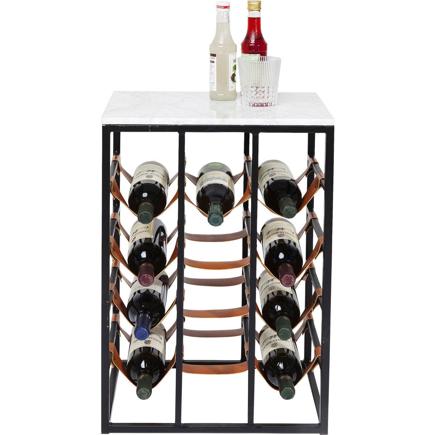 Kare design key west vinreol - hvidt marmor/sort stål (h:65cm) fra kare design fra boboonline.dk