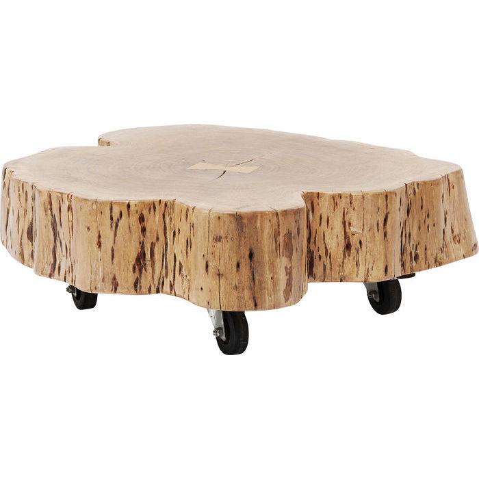 kare design – Kare design snag sofabord - natur akacietræ, m. hjul fra boboonline.dk