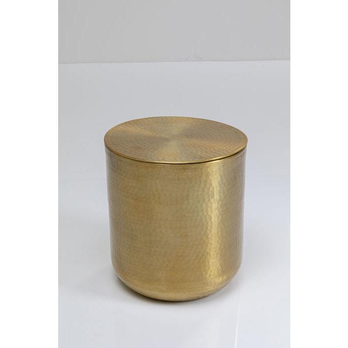 kare design – Kare design medina sidebord - guld stål, m. låg, rund (ø35) fra boboonline.dk