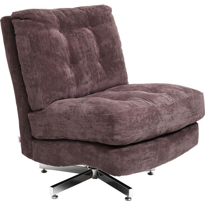 kare design – Kare design stol, swivel cinema brun fra boboonline.dk