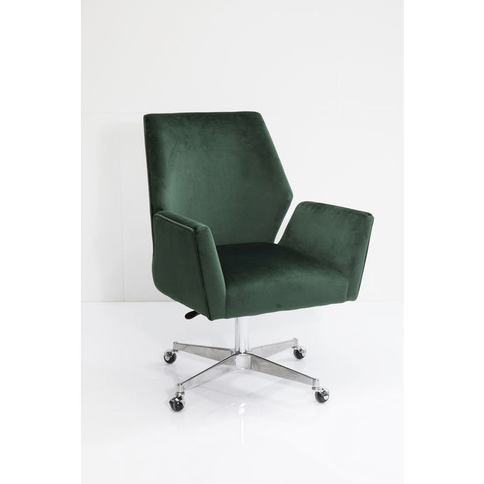 Image of   KARE DESIGN Armstol, Swivel Chicago Grøn