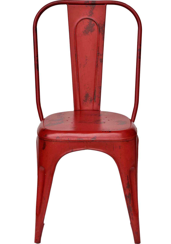 Trademark living spisebordsstol - fabriksrød