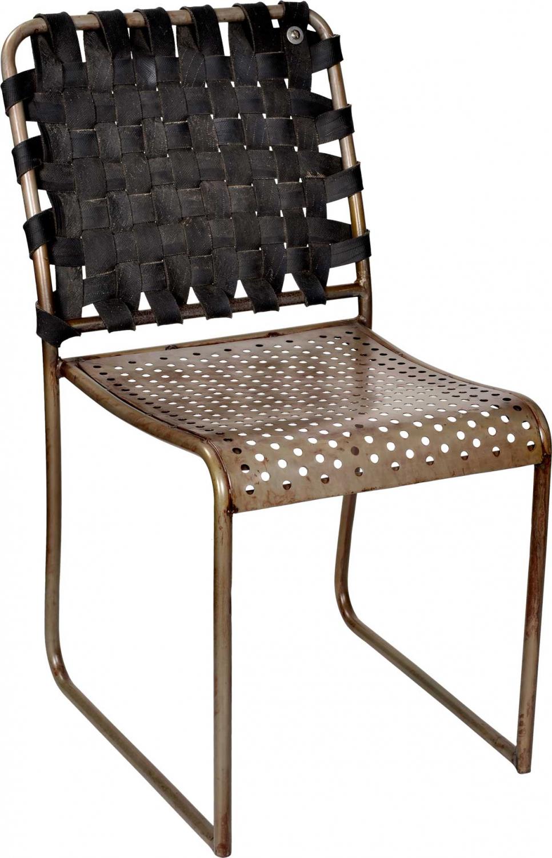 Image of   TRADEMARK LIVING spisebordstol - jern og gummi