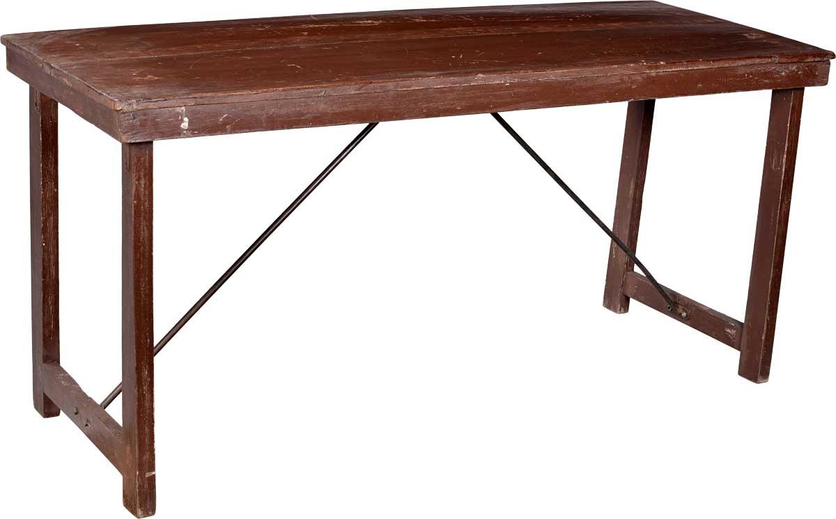 Image of   TRADEMARK LIVING Skønt gammelt bord i træ - brun