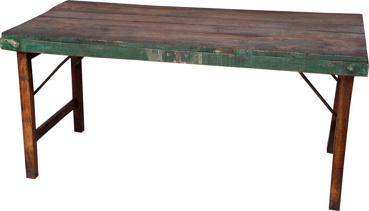 Image of   TRADEMARK LIVING Lækkert spisebord i træ med skøn patina