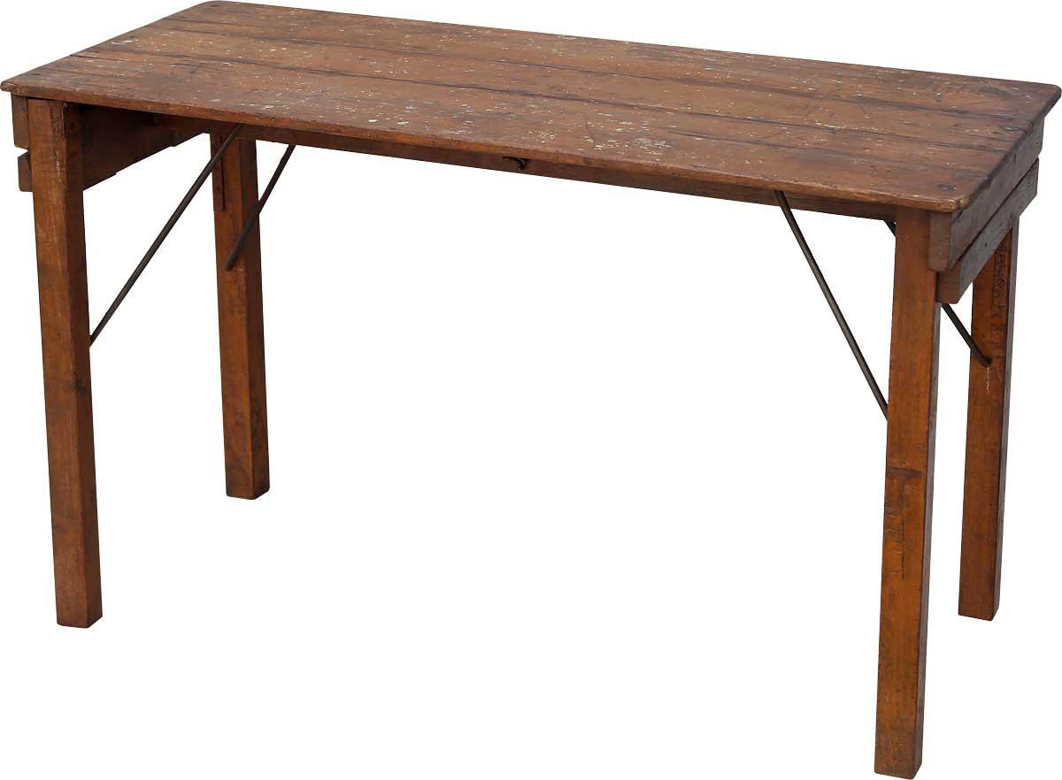 Billede af Trademark Living Skønt lille konsolbord i træ med fin patina