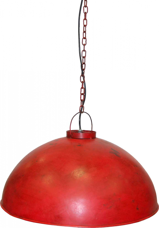 Image of   TRADEMARK LIVING Loftpendel i fabriksstil - industri rød