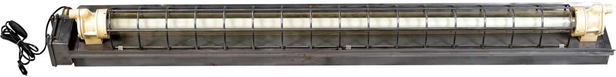 Image of   TRADEMARK LIVING Industrilampe med lysstofrør - original gammel