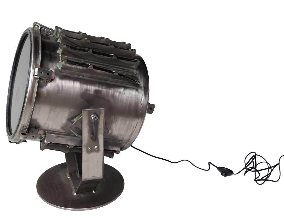 Image of   TRADEMARK LIVING Stor gammel projektør - gulvlampe