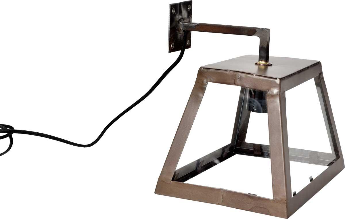 Billede af TRADEMARK LIVING stor væglampe i jern